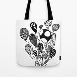 Balloon Design  Tote Bag