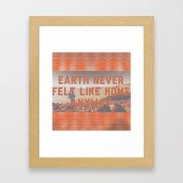 Roaming Mars Framed Art Print