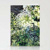 green lantern Stationery Cards featuring Green Lantern  by MelissaMoffatCollage