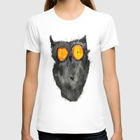 scary T-shirts featuring Scary owl by Bwiselizzy