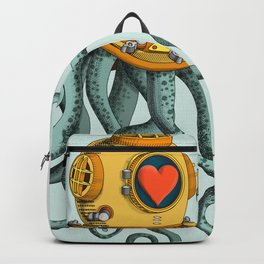 I'm falling in love with you? (right) Backpack