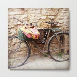Bycicle Metal Print