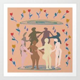 Women Dancing Art Print