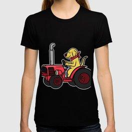 Tractor Farmer Gift Shirt Farmer Trecker Cool T-shirt