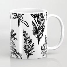 fleur noir Mug