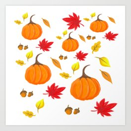 Fall Feels Art Print