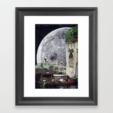 Everyone's Gone To The Moon Framed Art Print
