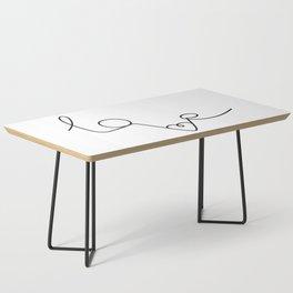 Woman & LoveMe Coffee Table