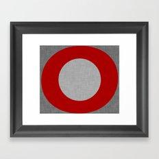 Zen Zero Framed Art Print