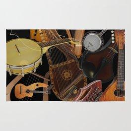 String Instruments 2 Rug