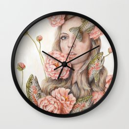 Flop or Flower Wall Clock