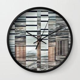 Coded Terrain Wall Clock