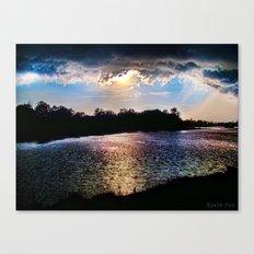 Awakening Sun Canvas Print