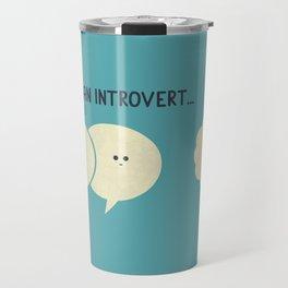 Introvert (Alt Version) Travel Mug