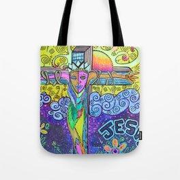 Colorful Prayers Tote Bag