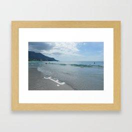beach.phose Framed Art Print