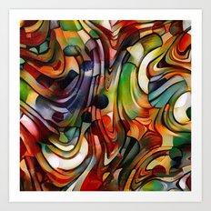 Astract Art Print