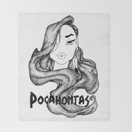 POCAHONTAS Throw Blanket