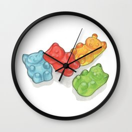 Candies & Sweets: Gummi Bears Wall Clock