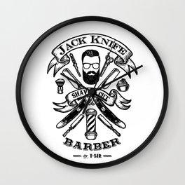 Jack Knife Wall Clock