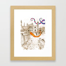 The Plague Framed Art Print
