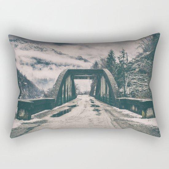 Silence bridge Rectangular Pillow