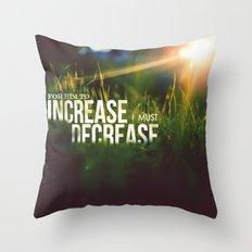HE > i Throw Pillow
