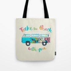 Take The Beach With You Tote Bag