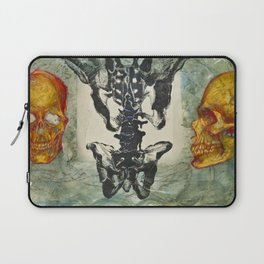 Study of Skulls, Hips, and Spines Laptop Sleeve