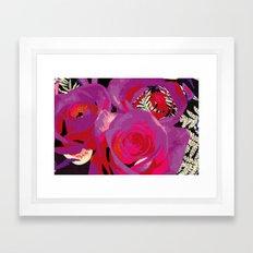 Flowers series_v02 Framed Art Print