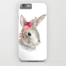 bunny with flower crown iPhone 6s Slim Case