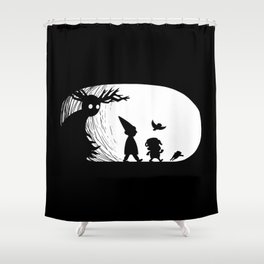 Beware the Unknown Shower Curtain