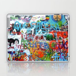 grafitti wall Laptop & iPad Skin