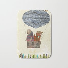 fox and bears wondrous adventure Bath Mat