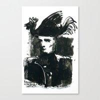 napoleon Canvas Prints featuring napoleon by Chuchuligoff