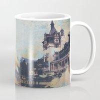 castlevania Mugs featuring Castlevania by Esco