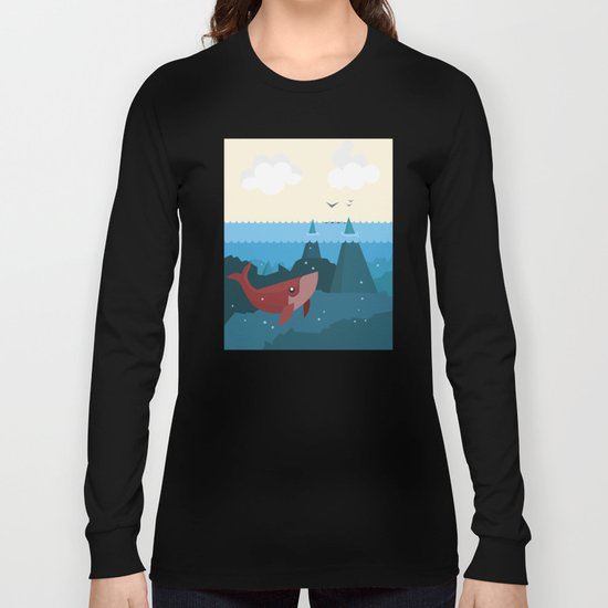 Hidden World Long Sleeve T-shirt
