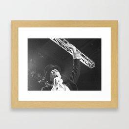 lex hives Framed Art Print