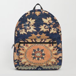 Sarouk Persian Floral Rug Print Backpack