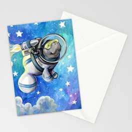 Space Man... atee Stationery Cards