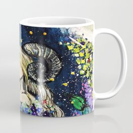 Faceless Aries Coffee Mug