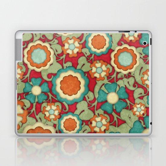 Autumn Floral Laptop & iPad Skin