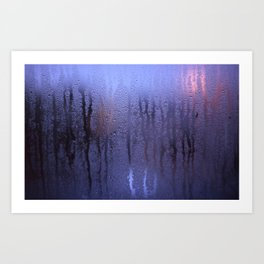 Purple Condensation Art Print