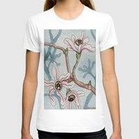 botanical T-shirts featuring Botanical Visions by Bonnie Johnson