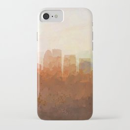 Louisville, Kentucky Skyline - In the Clouds iPhone Case
