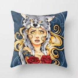 I Want You Safe (II) Throw Pillow