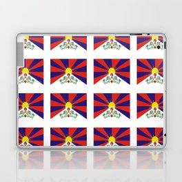 flag of thibet,བོད,tibetan,asia,china,Autonomous Region,everest,himalaya,buddhism,dalai lama Laptop & iPad Skin