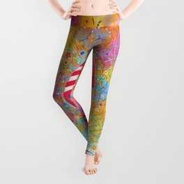 Arms of Marie Antoinette Leggings