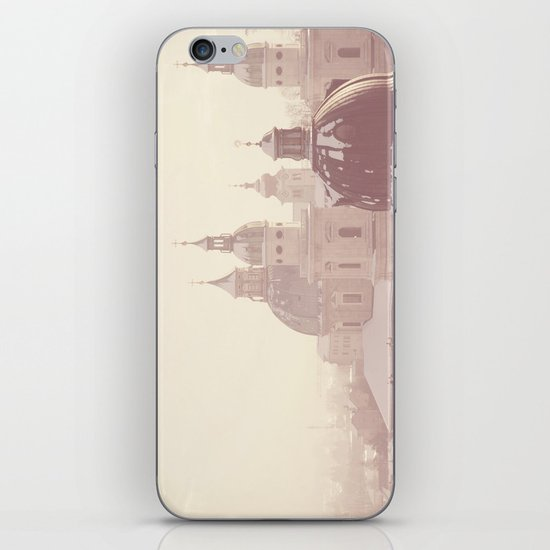 beneath her snow covered domes ... iPhone & iPod Skin