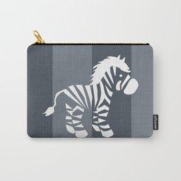 Zebra monochrome Carry-All Pouch